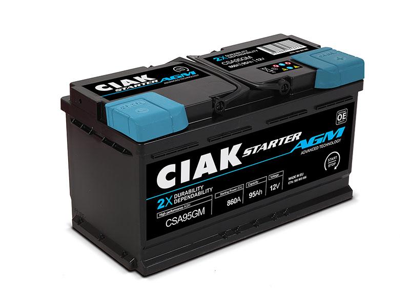 CIAK Starter AGM Start Stop Akumulator